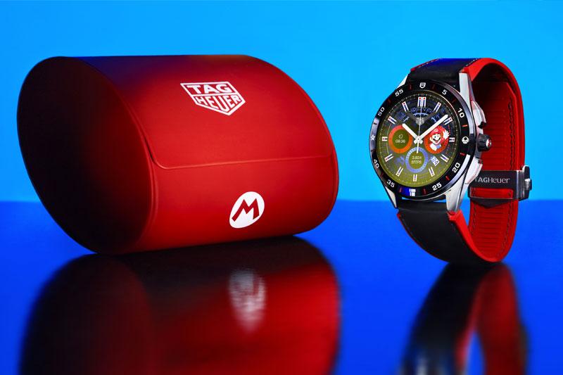 Super Mario's Latest Run, on a Smartwatch!