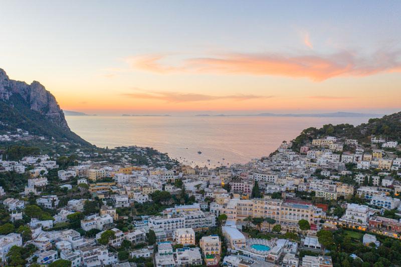 The Road to Capri!